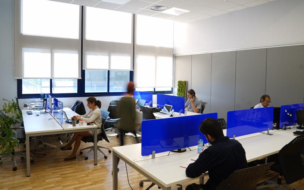 Espacios de trabajo flexibles, con tecnología y servicios, sctradecenter.es