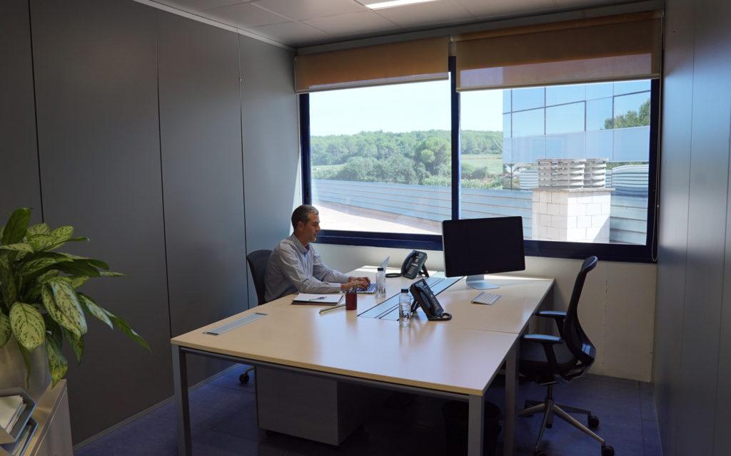 Espacios flexibles para volver a la oficina, sctradecenter.es