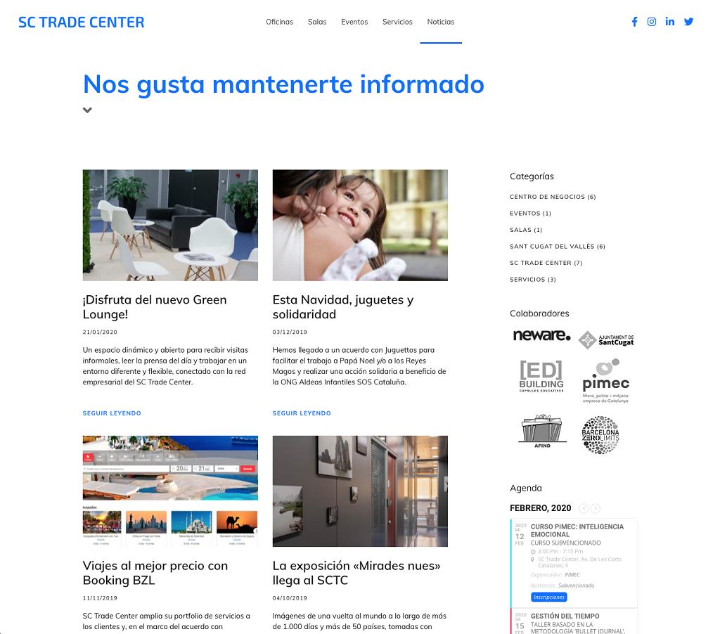 Estrenamos nueva web. ¡Visítanos!, sctradecenter.es